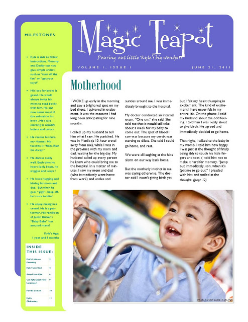 Baby Magazine: Magic Teapot
