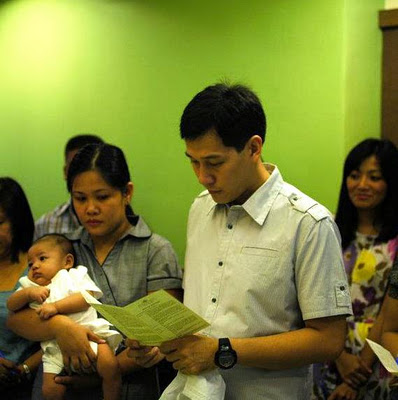 Welcoming Migo and Sean to the Christian World!