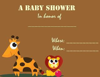 brown+baby+shower