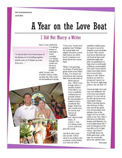 3 Years On a Love Boat {It's Our Wedding Anniversary!}