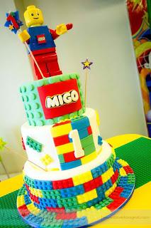 Lego City Theme Party {Migo's First Birthday}