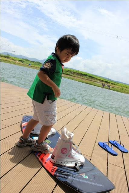Wakeboarding at Nuvali