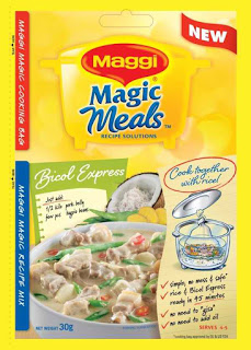 NESTLÉ Introduces MAGGI MAGIC MEALS {Try it and love it! }