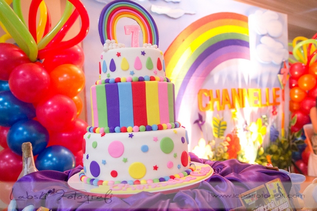 Channelle's Rainbow Themed Birthday: Colorful and Magical!