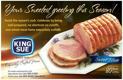 Giveaway Alert: Win Christmas Hams from King Sue!