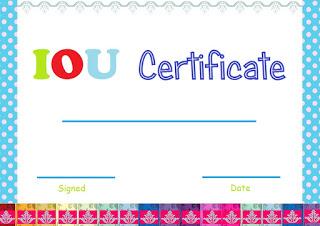 iou+certificate