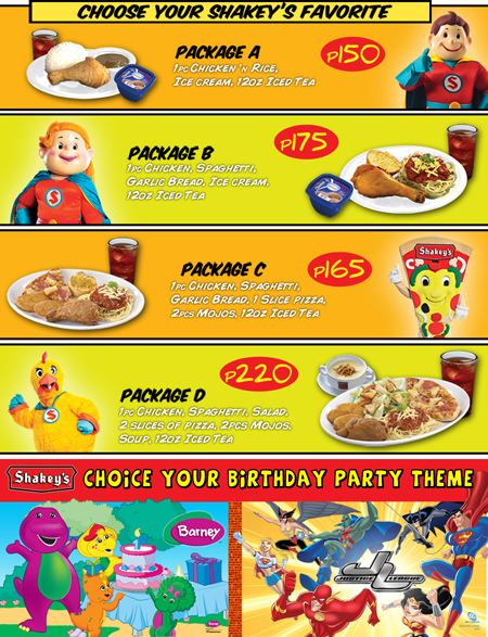 shakeys+party+packages