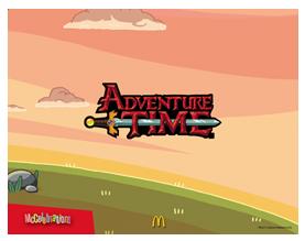 adventure time party theme mcdo