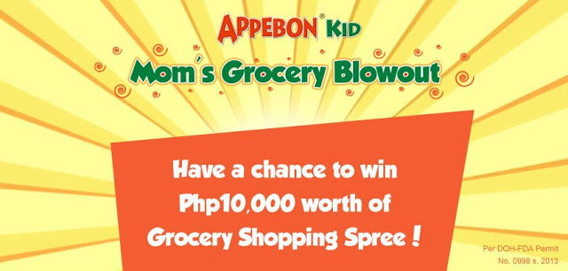 Last Chance to Join Appebon Kid's Mom's Grocery Blowout!