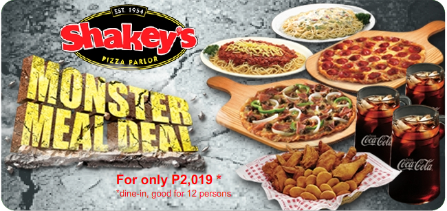 Shakey's Party Packages {Updated!}