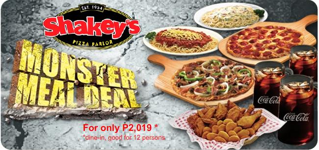 shakeys+monstermeal+deal