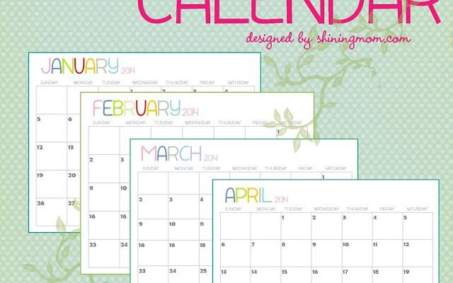 printable+calendar+2014