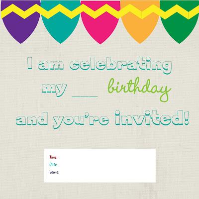 Free Birthday Invites for Girls