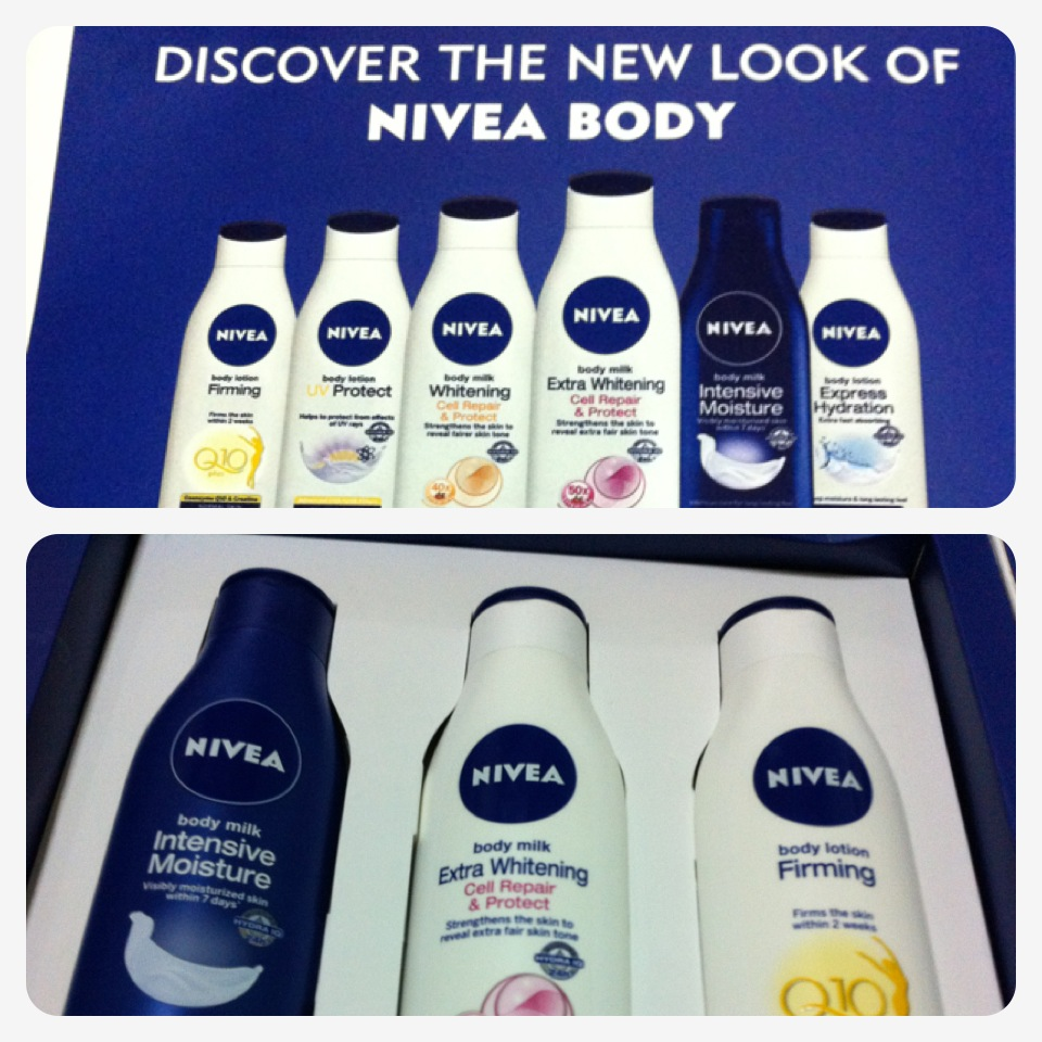 Nivea Body Rolls Out New Look