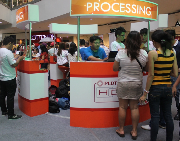 pldt mall tour processing 9