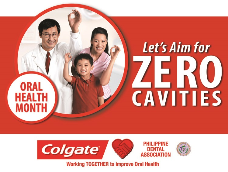 Colgate Oral Health Month