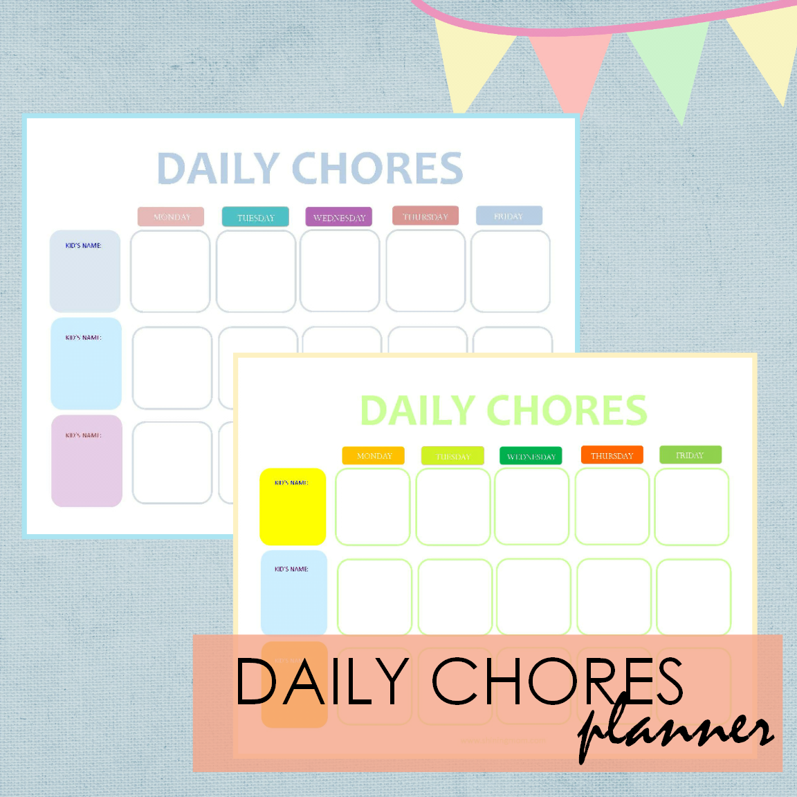 your free printable calendar and home planners for summer are here