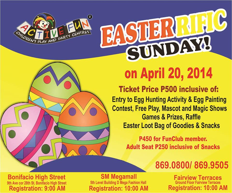 active fun easter celebration