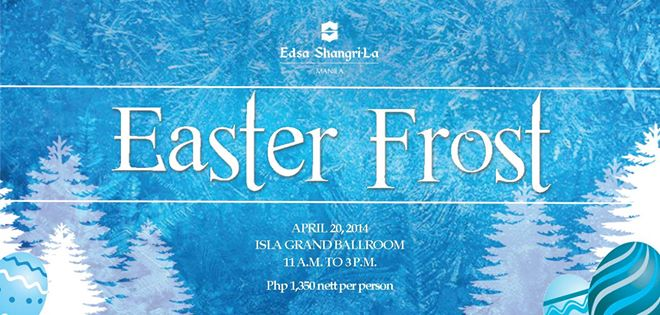 easter frost egg hunting 2014