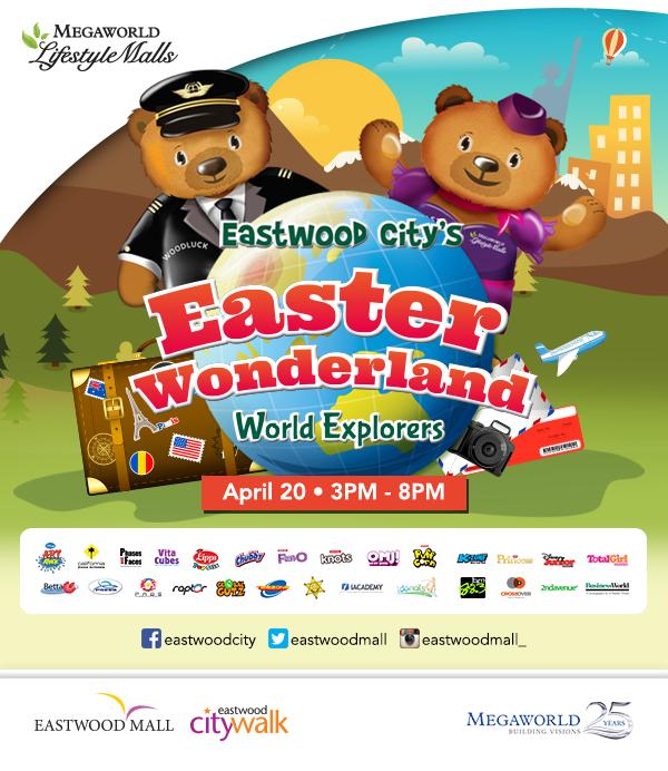 eastwood city easter woderland