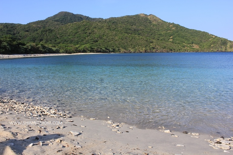 palaui island beach