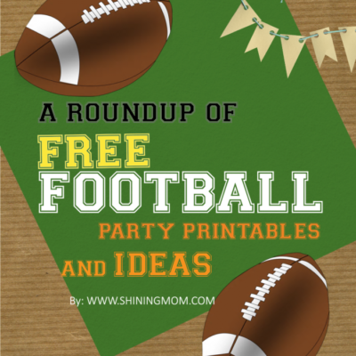 Where to Find Free Football Party Printable
