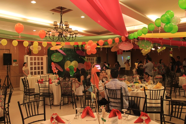 The venue set-up at The Aristocrat, Roxas Boulevard.