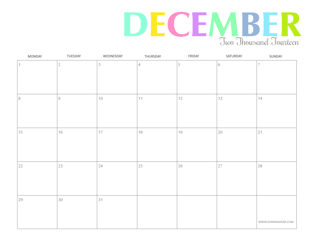 1056 x 816 png 34kB, Free Printable 2015 Monthly Calendars 8 X 11 ...