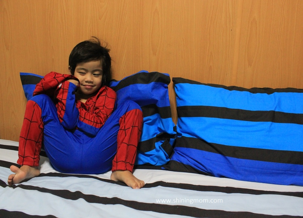 spider man costume for kids
