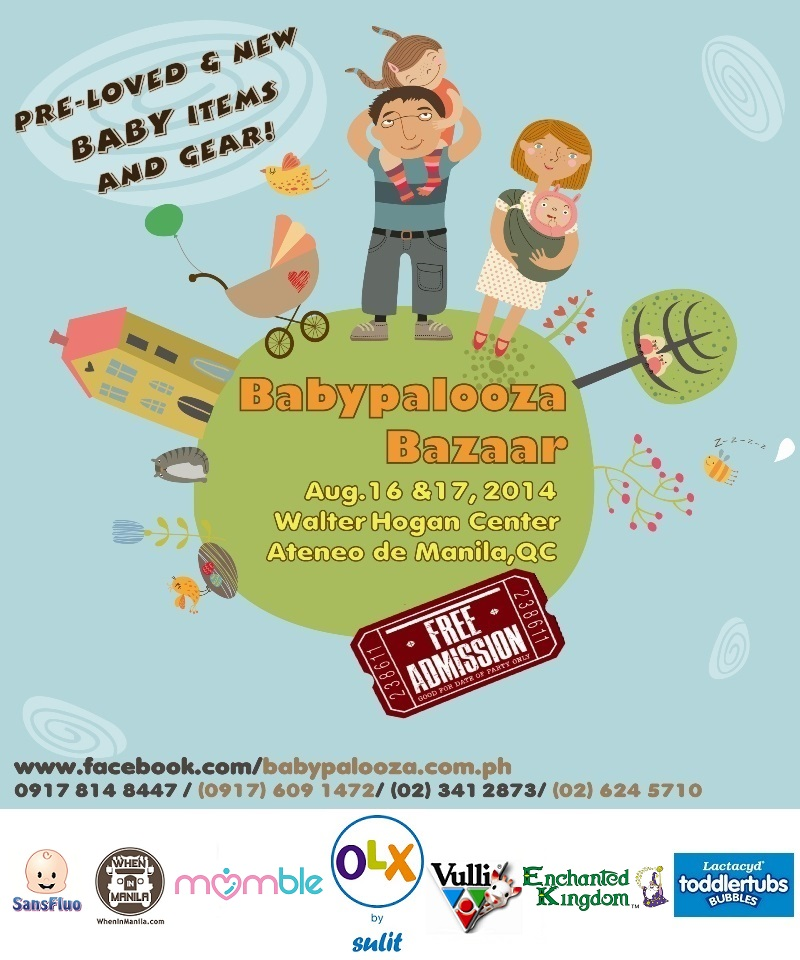 Babypalooza Aug 2014 flyer