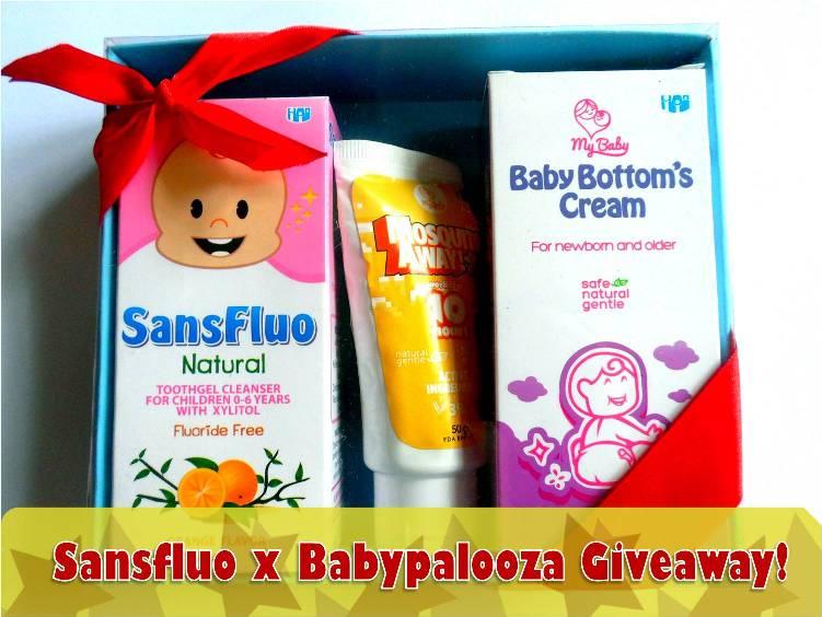 Sansfluo x Babypalooza giveaway pic