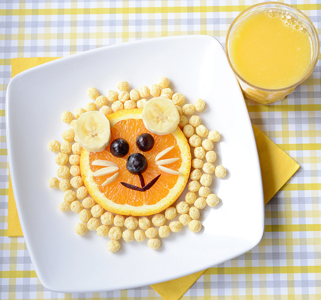 cute food plating idea