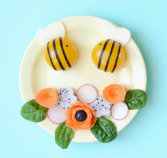 cute food plating