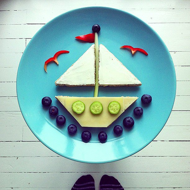 fun food plating ideas