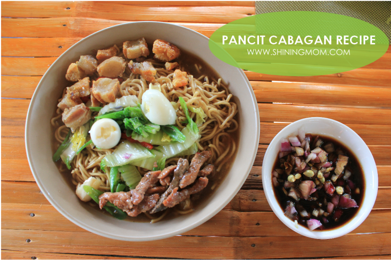 PANSIT CABAGAN RECIPE