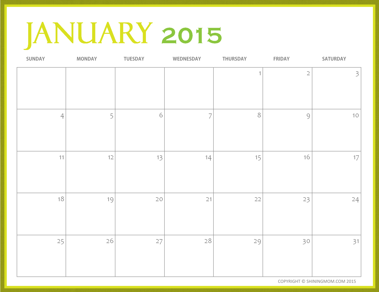 Search Results for: Printable Calendar Jan 2015 8x10