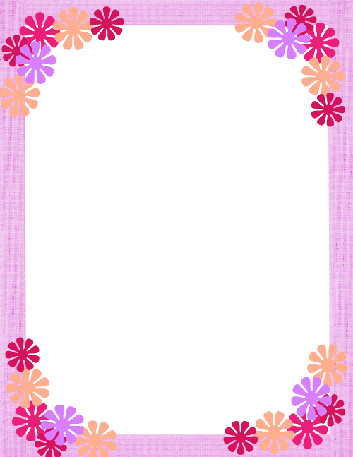 border for printable stationery
