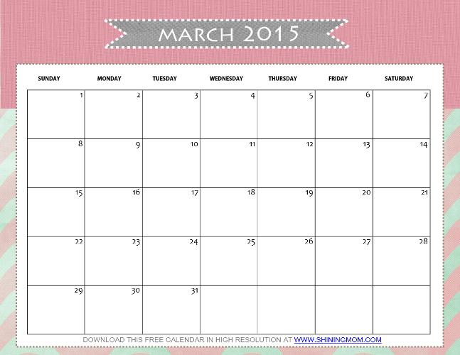 march 2015 calendar 3