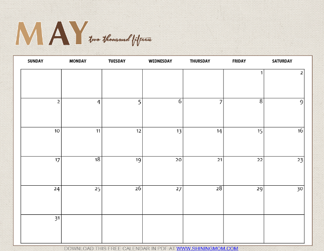 Monthly Blank Calendar For 2013/page/2 | New Calendar Template Site