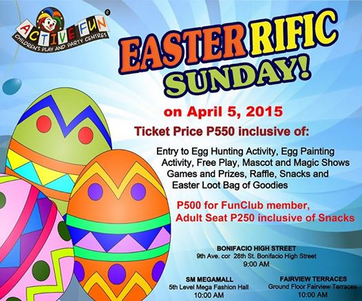 active fun easter egg hunt 2015