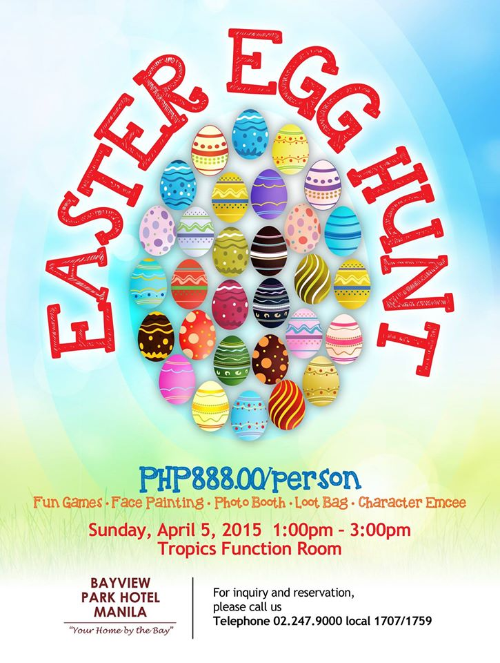 easter-egg-hunt 2015 manila