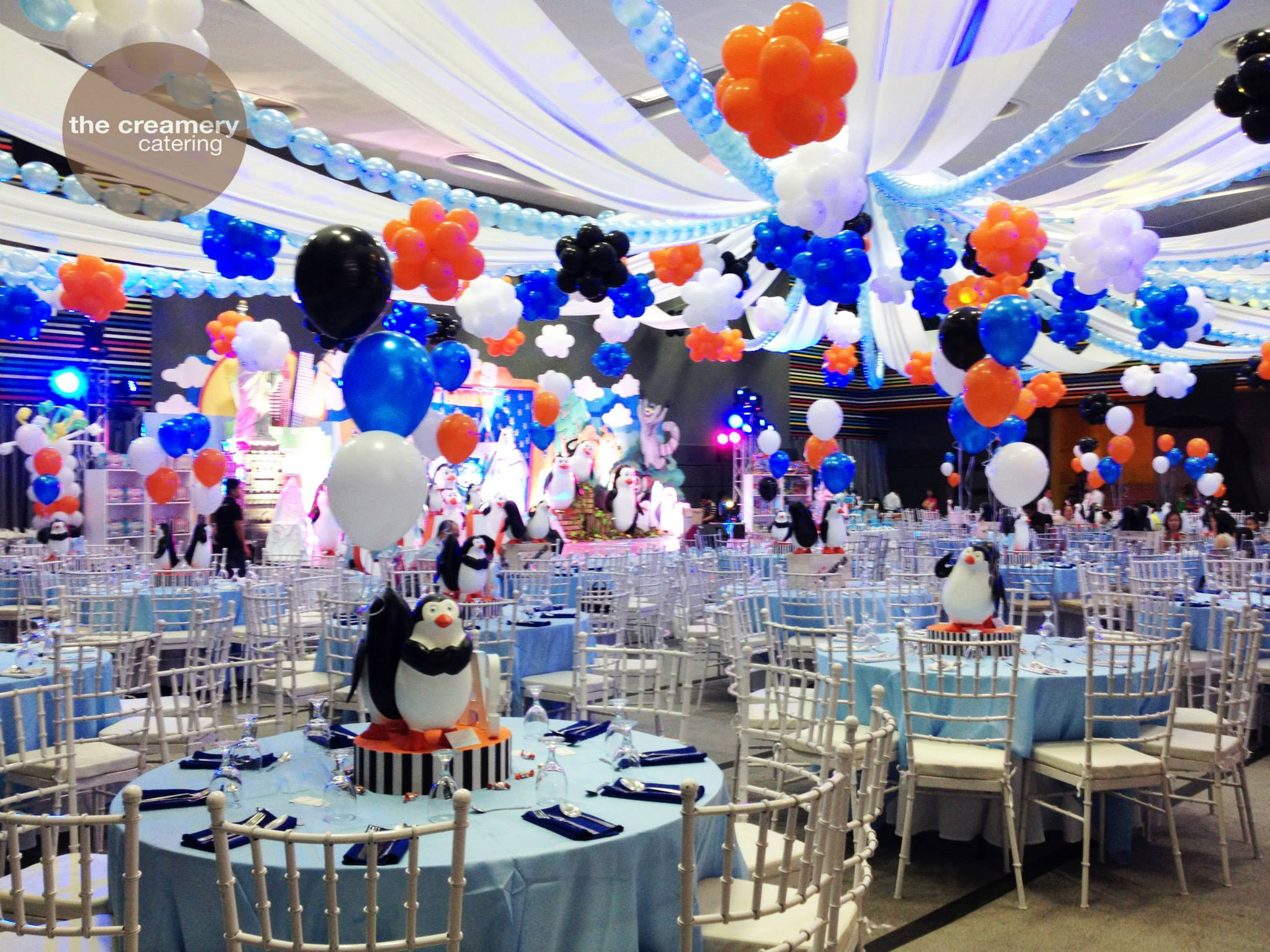 Photo: Sam's Penguins of Madagascar Birthday Bash via The Creamery Catering Facebook Page