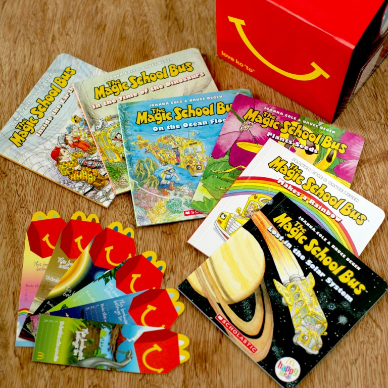 Happy Meal Books (1)