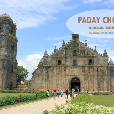 The Beautiful Paoay Church: A UNESCO World Heritage Site