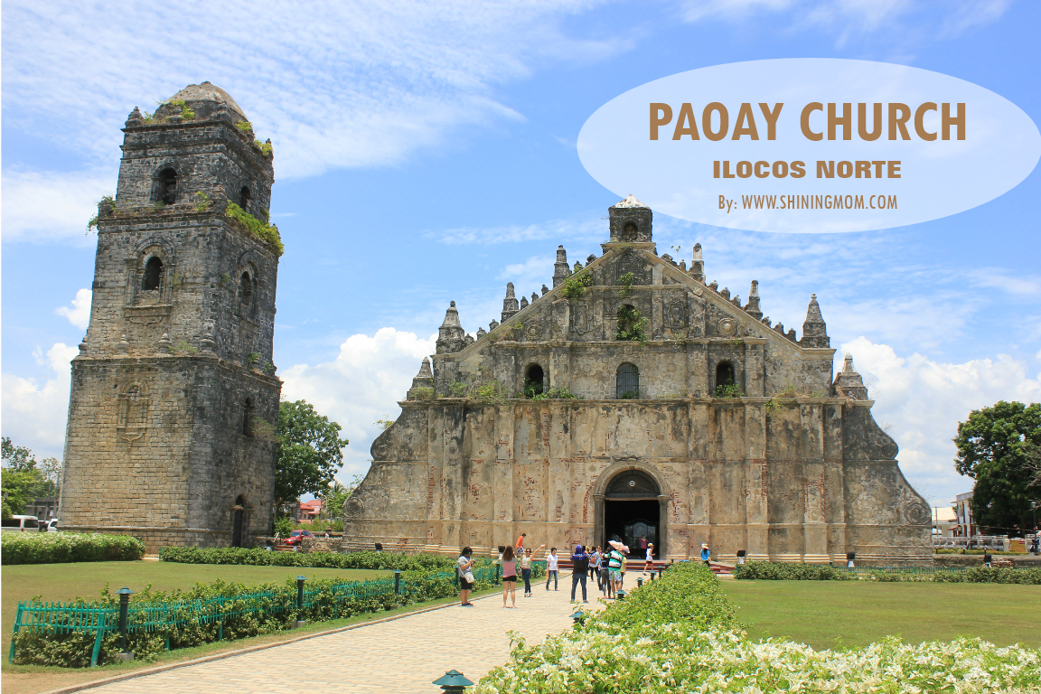 Paoay Church Ilocos Norte via Shining Mom blog