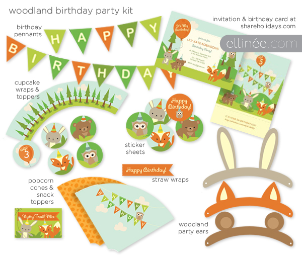 image regarding Printable Party identify Your Printable Social gathering Kits!
