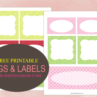 Printable Tags and Labels!