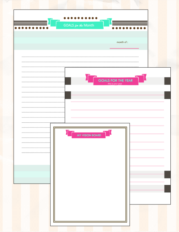 your free 2016 planner chic and stylish