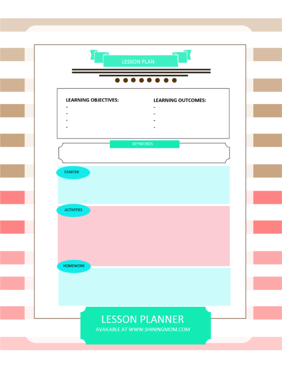 LESSON PLANNER FREE