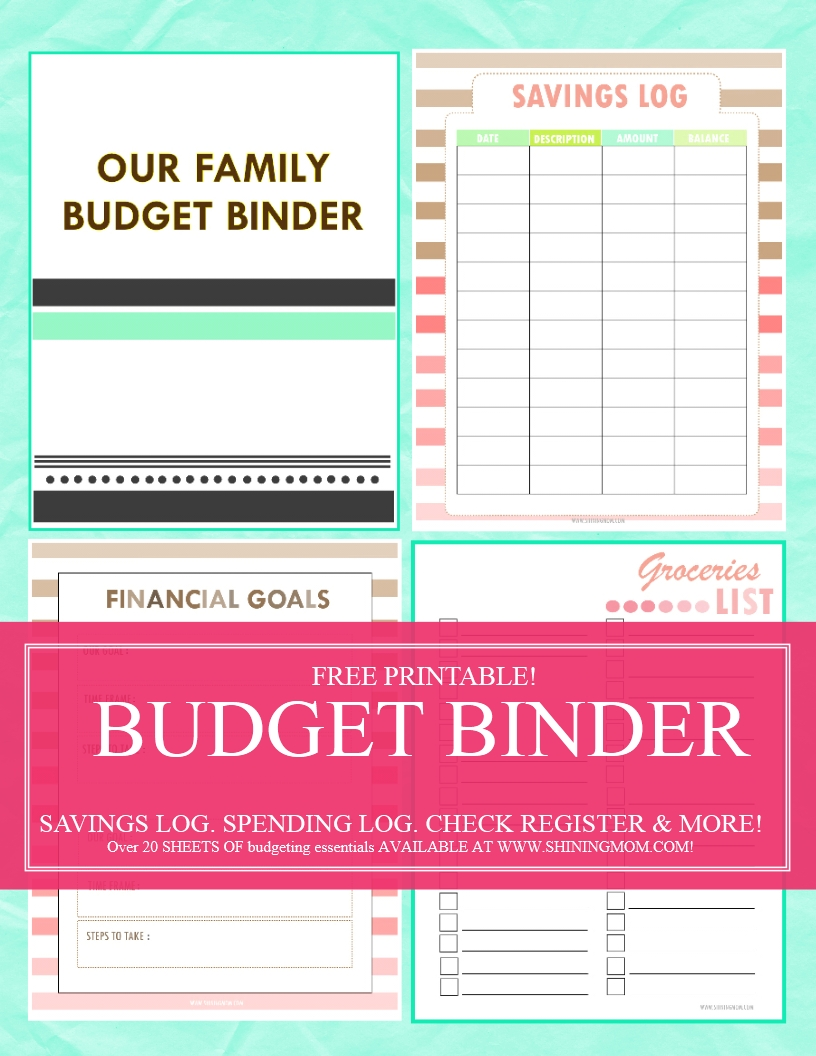 save money use our free budget binder. Black Bedroom Furniture Sets. Home Design Ideas